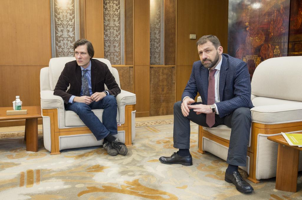Игорь Рыбаков и Дмитрий Семячкин